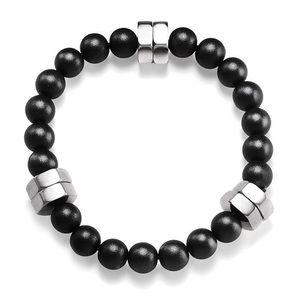 New Men's Bracelet Beads & Stainless Steel Bolts